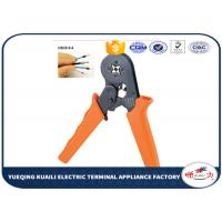 China Insulated Cord End Terminal Crimping Tool AWG Wire Crimping Pliers on sale