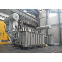 China Earthing Oil Immersed Power Transformer 220kv 240mva Compact Structure wholesale