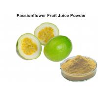 China Custom Passionflower Fruit Juice Powder Improve Juice Taste And Scent For Food wholesale