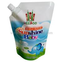 China producer of stand up spout pouches,  200/500/1000/1500/2000ml, for washing liquid packing wholesale