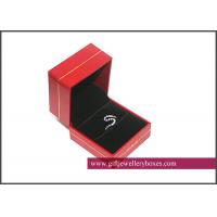 China Fashion customized Pantone / spot color Plastic Jewelry Boxes for packaging earring and pendant on sale
