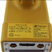 Quality 2800mah 7.2 V Nicd Battery , Yellow Topcon Bt 24q Rechargeable Battery Pack for sale