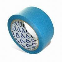 China Blue Painter's Tape, 14 days Outdoor Masking Tape, UV-resistant, and No Glue Residue wholesale
