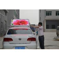 Buy cheap Double Sides Advertising Taxi Top LED Display Full Color , P6 Led Taxi Roof from wholesalers
