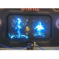 Buy cheap 50W Creative LED Screen 100cm Advertising Machine 3D Holographic Led Fan Display from wholesalers