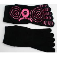 Quality Cotton Non Skid Socks for Yoga for sale