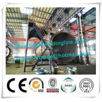 China 120T Cement Tank Welding Rotator , Pipe Welding Rotator For Tank And Vessel wholesale