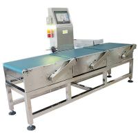 China Precision Stainless Still Conveyor Weight Checker For Weighting And Sorting Foods wholesale