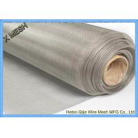 China 5 Micron Stainless Steel Woven Wire Cloth Dutch Mesh 0.914m X 30m For Filter wholesale