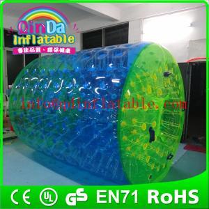 China QinDa Inflatable water park epuipment for sale inflatable water roller water rolling ball wholesale