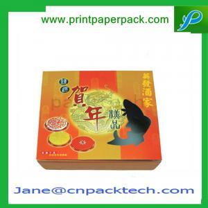 Custom Printed Mooncake Packaging Boxes Paper Gift Box Rigid Cardboard Set-Up Boxes
