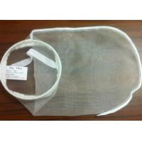 China PE / PA / Nylon Filter Mesh Industrial Filter Bag Woven / Nonwoven Fabric 7 * 18 wholesale