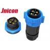 China High Current Waterproof Plug Socket , Aviation 50A Circular Industrial Plug Socket wholesale