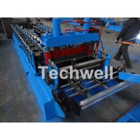 China 0.8-1.5mm Thickness Cold Roll Forming Machine For Making Traverse Machine With Motor 11KW wholesale