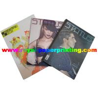 China customize fashion period /monthly magazine printing wholesale