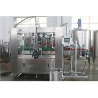 China Monoblock Beverage Drink Can Filling Machine Electric Nitrogen Injection wholesale