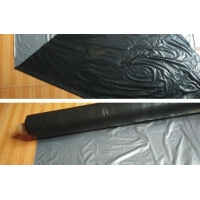 China Silver Black Two Color Agricultural Reflective Moisturizing Metalized PE Film wholesale