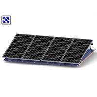 China Tilt Legs Adjustable Solar Mounting System For Flat Tin Roof Solution wholesale