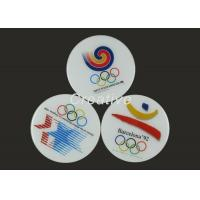 China Waterproof Printed Epoxy Domed Wooden Tea Cup Mat For Promotional Gifts wholesale