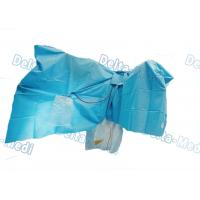 China TUR Surgical Disposable Sterile Urology Drape / Lithotomy Drape With Aperture / Pouch wholesale