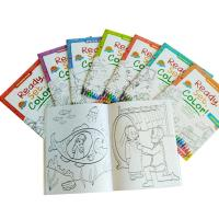 Children Coloring Book Personalised Stationery Gifts A4 / A5 Size Matt Lamination