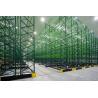 China Q235B Steel Warehouse Pallet Storage Racks  Movable  ,  Warehouse Storage Racking Metal Shelving wholesale