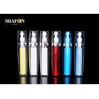 China Plating Plastic Refillable Rollerball Bottle 15ml Capacity 148.5mm Height OEM wholesale