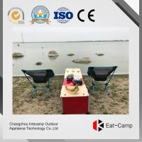 China Double Gas Stoves Outdoor Kitchen Prep Station For Hiking Trips / RV Camping wholesale