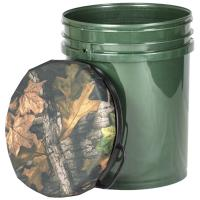 Buy cheap Hunting Bucket Seat Camo Seat Fishing Barrel Seat Plastic Material 60CM from wholesalers