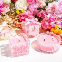 China Lightweight Perfume Scented Candles Soy Wax Material Elegant Looking wholesale