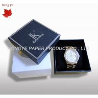 China Personalised Recycled Cardboard Watch Gift Boxes For Christmas wholesale