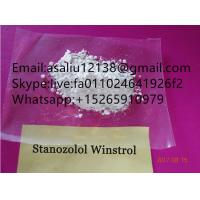 China Winstrol Powder CAS 10418 03 8 Anabolic Steroids For Fitness Exercise pure 99.9% wholesale