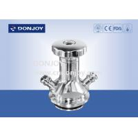 China Automaitc return handle Aspetic Sampling Valve with welded Connection wholesale