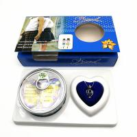 China Friend Series Color Box Love Pearl Necklace Gift Box With Fashion Cage Pendant for Birthday Gift wholesale