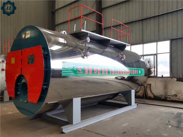 Quality Automatic Skid-Mounted Type Gas Fired Steam Boiler For Edible Oil Pressing/Milling Plant for sale