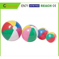 China Dia 20'' Inflatable Beach Ball, Funny Beach Ball Non Toxic Accordance With EN71 wholesale