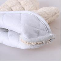 China Durable  Oven Mitts Gloves Easy Slip On  Good Stain Resistant Function wholesale