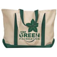 China Recycle Foldable Cotton Handle Bag,Supply Unique Design Handled Eco Shopping Cotton Canvas Bag on sale