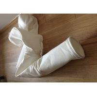 China Stainless Steel Ring Micron Filter Bags Easy Cleaning For Cement Plant wholesale