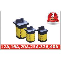 China Electrical 3 Pole Disconnect 16A 20A Rotary Isolator Cam Operated Switch wholesale