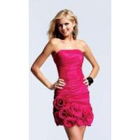China Red Strapless Homecoming Dress wholesale