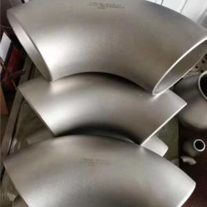 China ASME B16.9 Titanium Grade 2 Ti Elbow 90 Degree R-1.5d 60.3*2.77mm DN50 Sch10 wholesale