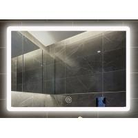 China Wall Mounted Smart LED Bathroom Mirror 5mm Thickness Waterproof With Light on sale
