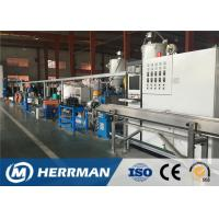 China Optical Fiber Cable Sheathing Line For Armoured Cable Core Inner / Outer Sheathing on sale