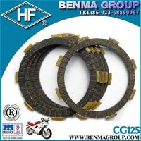 China Motorcycle Clutch friction plate CG150 HF brand wholesale