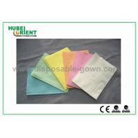 Buy cheap CE ISO Certificate Dental Disposable Apron With Tissue Coated PE Materials , 39 from wholesalers
