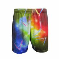 China Colorful Casual Sport Clothes Wide Waist Band Tight Running Shorts Unisex wholesale