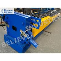 China 10 - 15 M/Min Downspout Roll Forming Machine For 100*80 120*100 Rectangle Profiles wholesale
