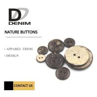 China Natural Coconut 2 /4  Holes Coconut Button Clothing Accessories wholesale