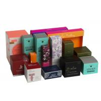 China Folding Biodegradable Cosmetic Gift Boxes Packaging Gifts Eco - Friendly For Women wholesale